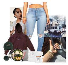"""Rainy Day"" by jemilaa ❤ liked on Polyvore featuring Helen Moore, Apple, Native Union, NIKE and Bobbi Brown Cosmetics"