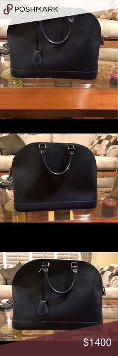 Alma PM Never used beautiful purse in perfect condition! Louis Vuitton Bags Satchels