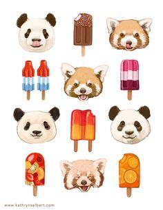 :D aaaaaaaaa!! me deu fome esses picolés, e me deu vontade de ir no zoo ver os pandar u.u bora ir no zoo vamos??