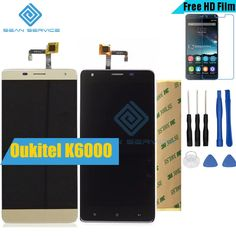 """For Oukitel K6000 Original LCD in Mobile phone LCD Display and TP Touch Screen Digitizer Assembly lcds +Tools 5.5"""" 1280x720P"""