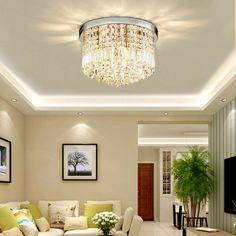 Salon Salle de bains cuisine Plafonnier Lampe Verre Plafonnier rectangulaire DECO PAILLETTES domino