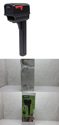 Mailboxes and Slots 20599: Gibraltar Gentry Large Capacity Double-Walled Plastic Black All-In-One Mailbox -> BUY IT NOW ONLY: $38.98 on eBay!