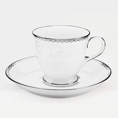 Abbeyville 3 oz. After Dinner Cup and Saucer (Set of 4)