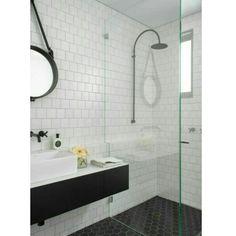 ▪ Banheiro   black and white ▪ hhinspiration ▪ interior design inspiration ▪ hhreferência