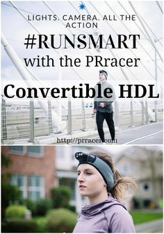 Learn about the coolest new running tool and how you can support the PRracer Convertible HDL! #ad