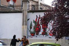 "Lolo. Proyecto ""Muros"".#ArteTabacalera Promoción del Arte #ArteUrbano #StreetArt #Madrid Arterecord 2016 https://twitter.com/arterecord"
