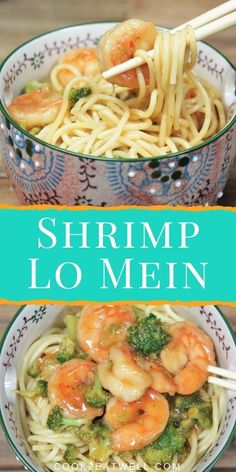 This Shrimp Lo Mein recipe is quick, easy and delicious, making it a perfect dinner for busy weeknights. We use prepackaged, steam-in-the bag broccoli and frozen, clean, easy-to- peel shrimp to make this meal even easier. Asian Recipes, Healthy Recipes, Ethnic Recipes, Shrimp Lo Mein Recipe, How To Peel Shrimp, Cooking For Beginners, Easy Family Dinners, Fish And Seafood, Dinner Recipes