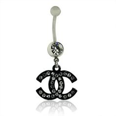 Chanel belly ring<3