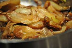 Fenouil caramélisé au miel
