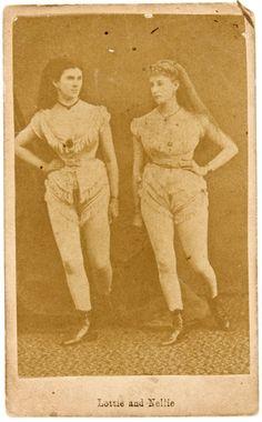Saloon Girls Lottie & Nellie   Virginia City