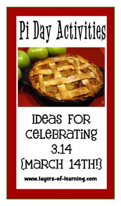 Pi Day Activities and a simple explanation of what Pi is for kids.  Celebrate on 3.14 {March 14th!}