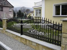 House Fence Design, Exterior Wall Design, Balcony Railing Design, Window Grill Design, House Front Gate, Compound Wall Design, Interior Door Styles, Boundary Walls, Wrought Iron Gates