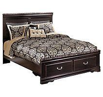 Esmarelda Queen Panel Bed with Storage