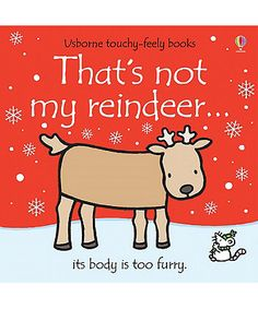 Usborne That's Not My Reindeer Book | books | Mothercare