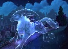 a talbuk in ghost form... uhhhhh...