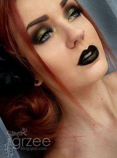 I like the black lipstick