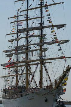 Old flag ship