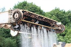 ripsaw alton towers hated this felt like I was on it for hours..