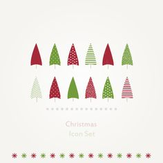 Christmas Tree - icons on Behance