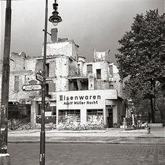 Berlin-Lichterfelde 1947 Drackestrasse Ecke Curtiusstrasse