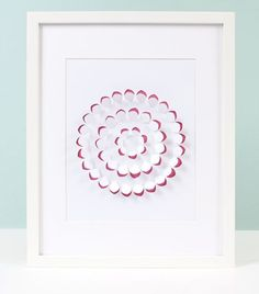 Silhouette Blog: Home Decor :: Framed Art -- simple to do in many colors