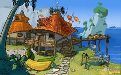 jak and daxter environment concept art - Google Search