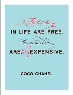 """The Very Best Things - Chanel - 11""""x14"""" Print"""