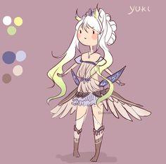 yuki reference by NaruLeiin.deviantart.com on @deviantART