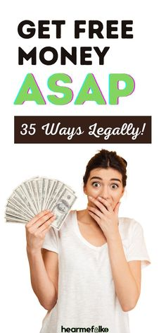 Get Free Money - Need Money Now? Here's a quick list of a few easy-peasy ways to accumulate cash asap especially, when you need money now or today! Make Money Fast! I Need Money Now, Ways To Get Money, Make Quick Money, Money Tips, Money Hacks, Earn Free Money, Earn Money Online, Online Jobs For Moms, Legit Work From Home