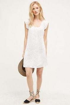 Quinn Eyelet Dress #anthropologie - Velvet by Graham and Spencer
