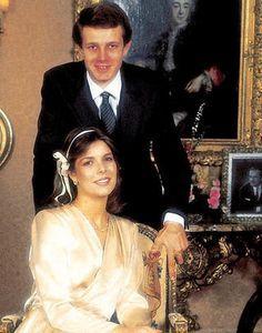 Image result for princess caroline of monaco civil wedding