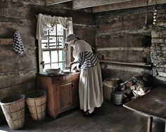 Old Cabin Kitchen - Bing Images
