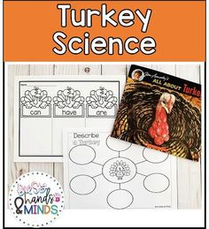 Turkey Unit of Study for Kindergarten and 1st Grade