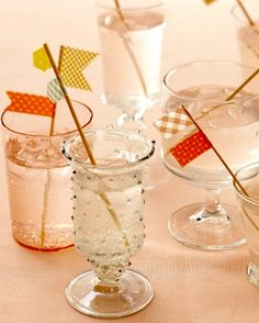 Do you have a party or a wedding coming up? It can be a small shindig or something a bit larger. Either way, you definitely need these washi tape drink flags to spice things up a bit. It's the little touches that make a party really special, and these drink stirrers fall into that category …