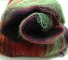 Witch's Apprentice spinning/felting batt smooth  no by AlmaPark, $24.00