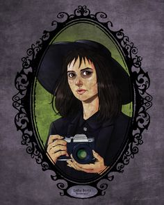 BROTHERTEDD.COM - johnny-dynamo: Horror Heroines by Christopher... Funny Vintage Photos, Steampunk, Gothabilly, Bizarre, New Wallpaper, Iphone Wallpaper, Visual Development, Movie Collection, Beetlejuice