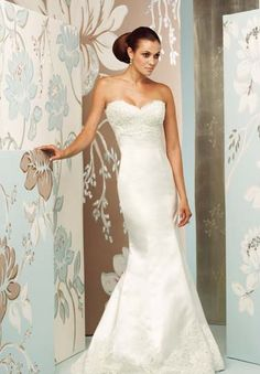Style Sweetheart Top Lace Just Below The Bust Silk Satin For Rest Of Dress Love Form Fitting Fit With Mermaid Bottom