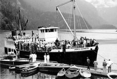 Jervis Express Boat Day at the Malibu Club (early 1960s) #malibu #younglife #malibuclub #ylMalibu #ylMalibuclub
