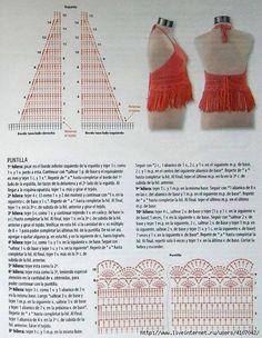 Photo from album Crochet Halter Tops, Crochet Bikini Top, Crochet Blouse, Crochet Beanie, Crochet Top, Crochet Stitches, Crochet Patterns, Crochet Lingerie, Bikini Pattern