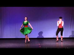 Christmas in Killarney Cakewalk Choreography - YouTube