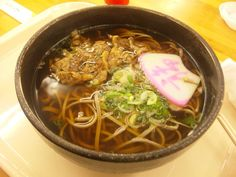 2013/01/06 Soba. 肉蕎麦