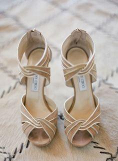 Preciosas sandalias para una novia o invitada