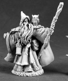 Reaper Miniatures (Wizard With Owl 3693) RPG 25mm Minis
