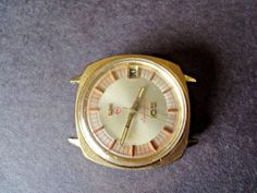 Elgin Electronic105 Wrist Watch Gents Gold Filled  Eligent Dial  #Elgin #DressFormal