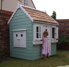 Huisjesstijl - The Playhouse Company - boomhut, kinderspeelhuizen, kindertuinhuizen, speelgoedhuis, speelkasteel, houten speelhuis