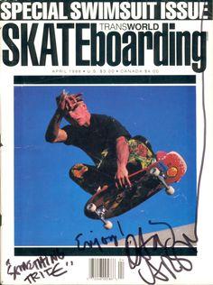 #imgspark David Carson, Transworld cover. #skateboarding