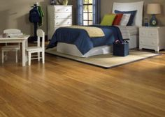"""1/2"""" x 5"""" Click Strand Carbonized Bamboo. Love this flooring."""