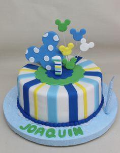 Mickey Baby Cake by Violeta Glace