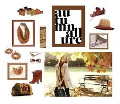 """Autumn Allure"" by arlenesboutique ❤ liked on Polyvore featuring Ann Taylor, Callanan Millinery, Jimmy Choo and See by Chloé"