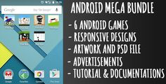 Android Game Mega Bundle - 6 Games . 1.3 Updated libpng lib for Google Play